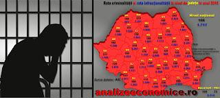 Cum arată hărțile infracționalității și criminalității