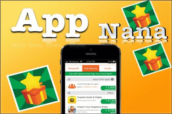 Gagner de l'argent avec App Nanna
