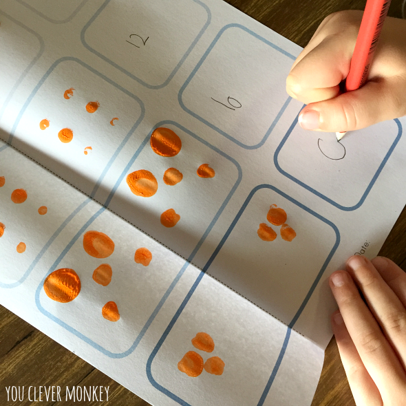 Teaching Double Numbers - using our free printable mats to help teach young children double numbers, one of the Natural Maths Secret Code, plus two other teaching ideas for the Early Years classroom | you clever monkey