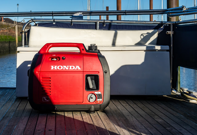 Photo of our portable generator