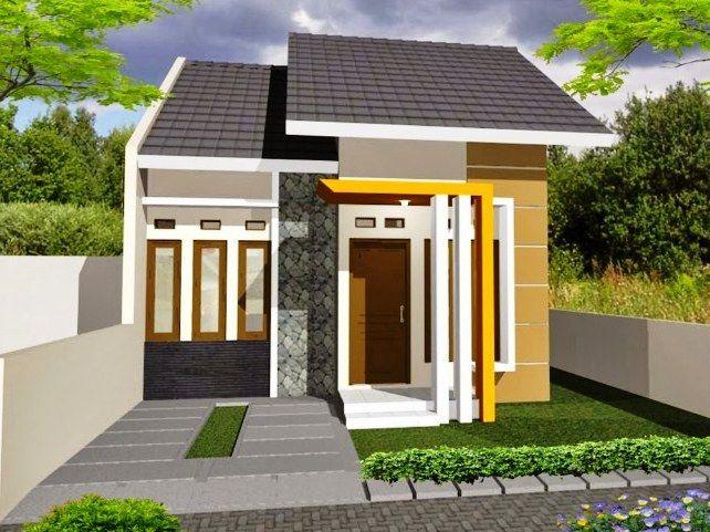 Gambar Desain Rumah Type 36 Desain 1 Lantai Elegan