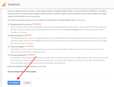 Google Analytics ko blogger me kaise set kare