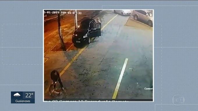 VIOLÊNCIA - Marido tenta atropelar a mulher em posto de combustíveis