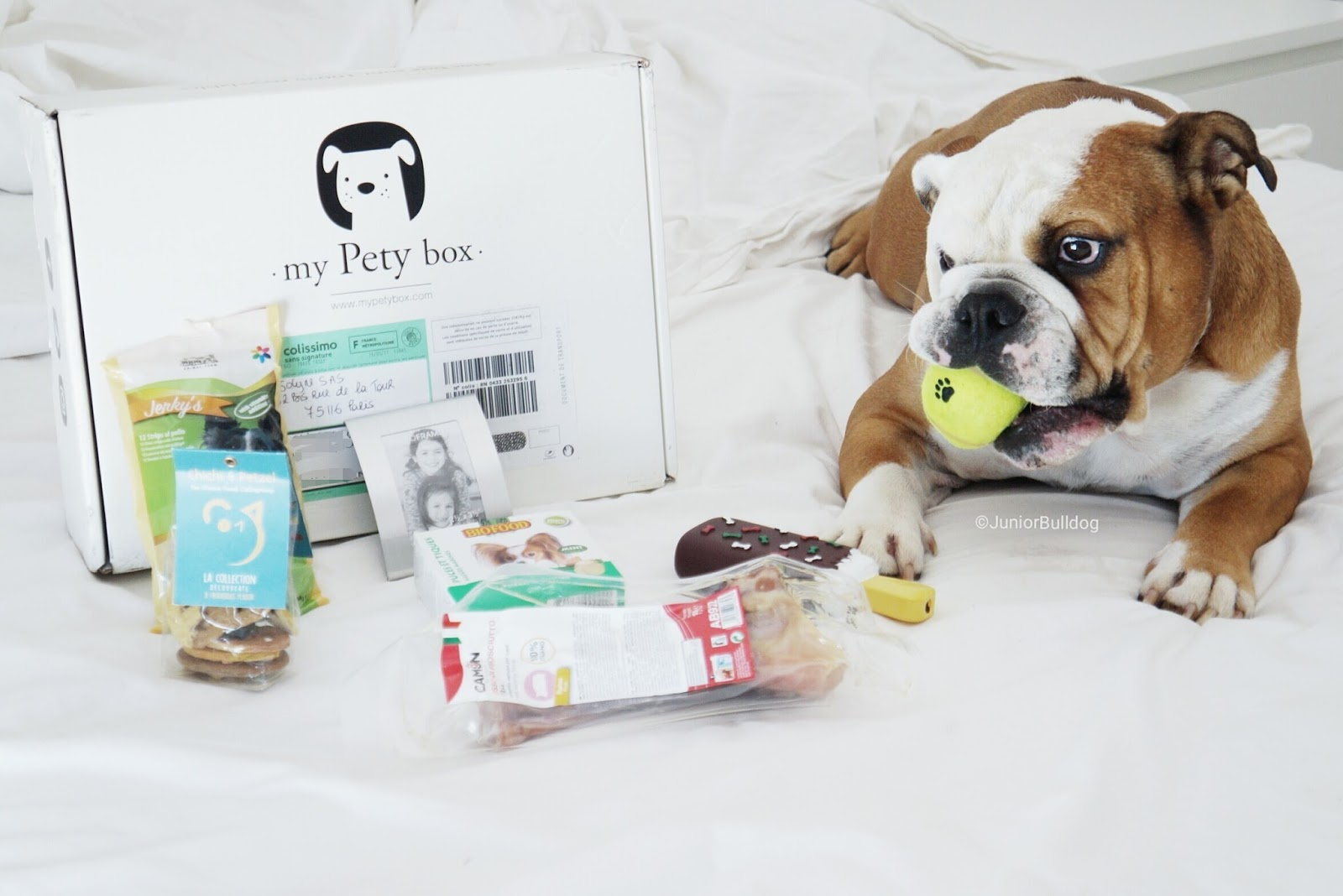 my pety box unboxing blog avis