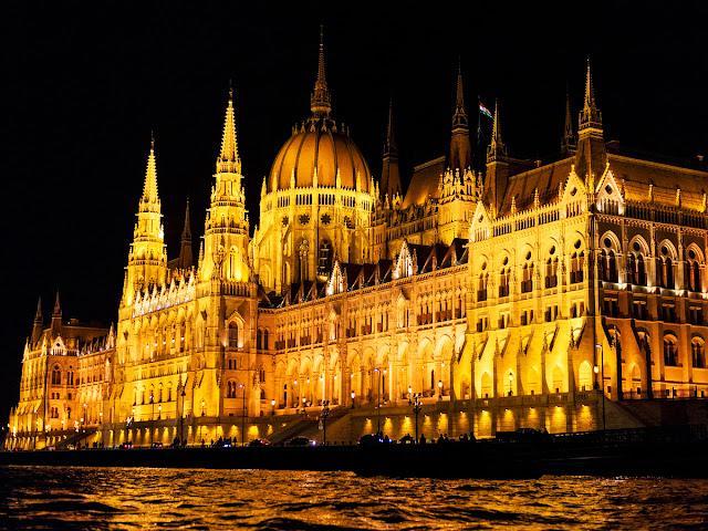 Parlamento de Budapest Noche