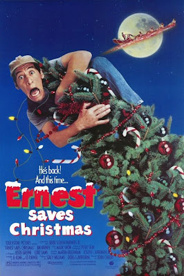 Ernest Saves Christmas 1988 Poster