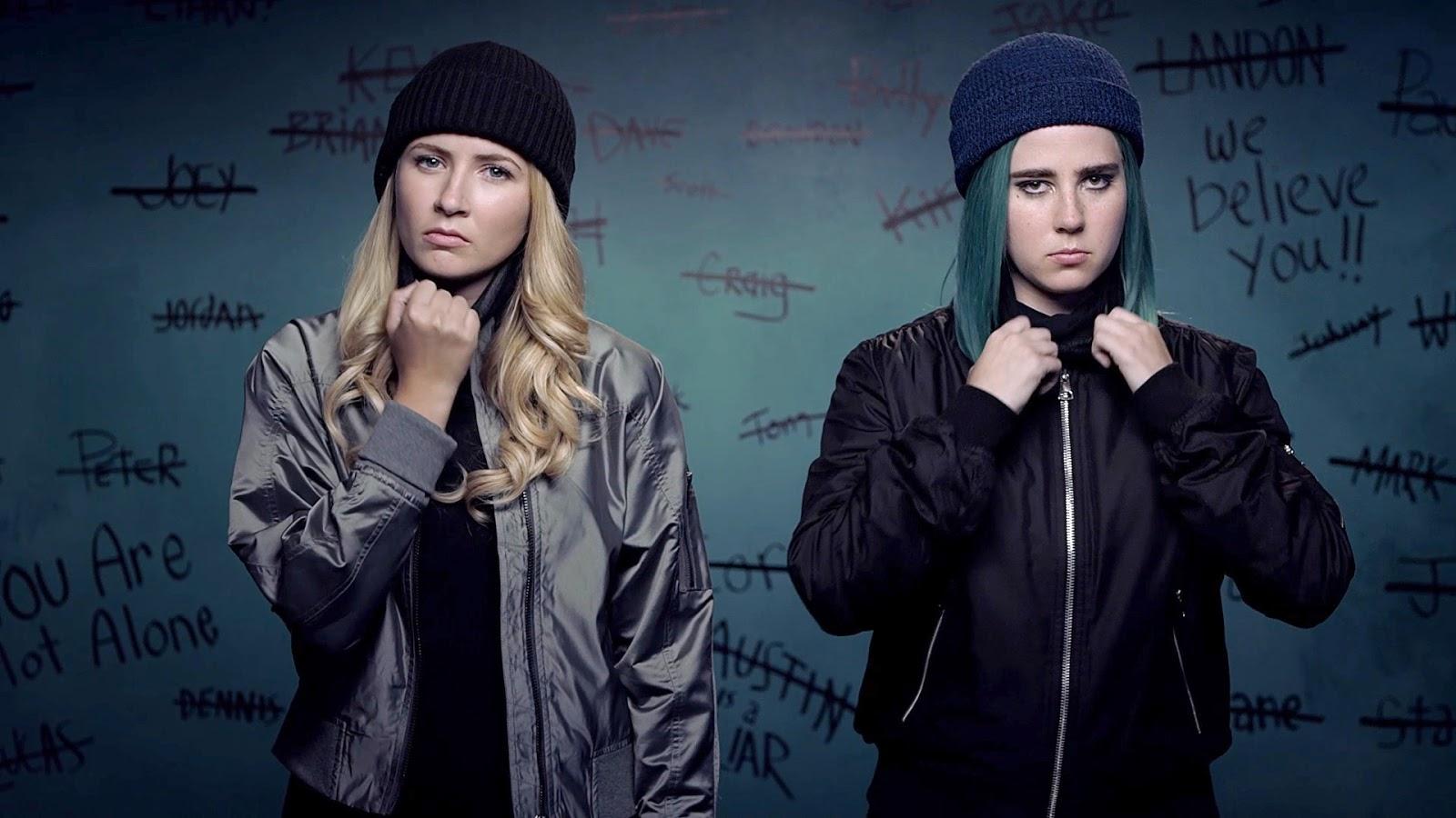 Eliza Bennett y Taylor Dearden en Sweet/Vicious