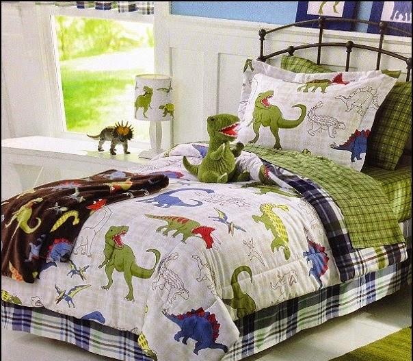 Dormitorios tema dinosaurios - Dormitorios colores y estilos