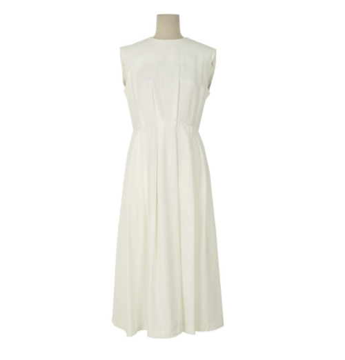 Sleeveless Tea-Length Dress