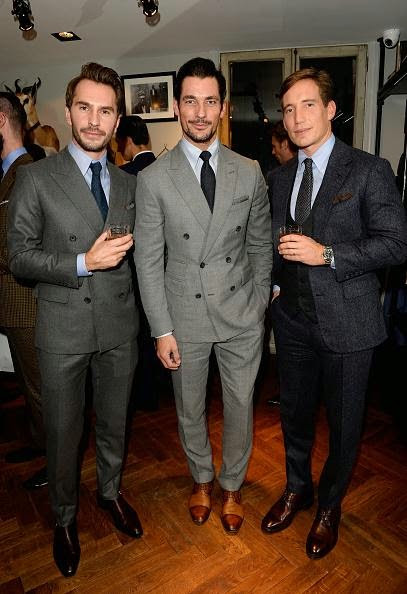 Opening Of The New Thom Sweeney Store in London ~ David James Gandy