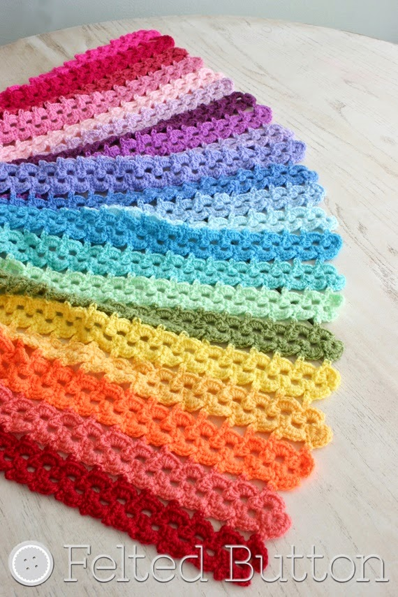 Pansy Parade Blanket (crochet pattern by Susan Carlson of Felted Button)