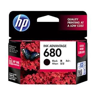 HP 680 Tinta Cartridge - Black | bali komputer - aksesoris komputer bali