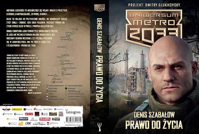 Już dziś premiera najnowszej książki z serii Uniwersum Metro 2033 – Prawo do życia – Denisa Szabałowa.
