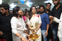 Samantha Ruth Prabhu Smiling Beauty in White Dress Launches VCare Clinic 15 June 2017 060.JPG
