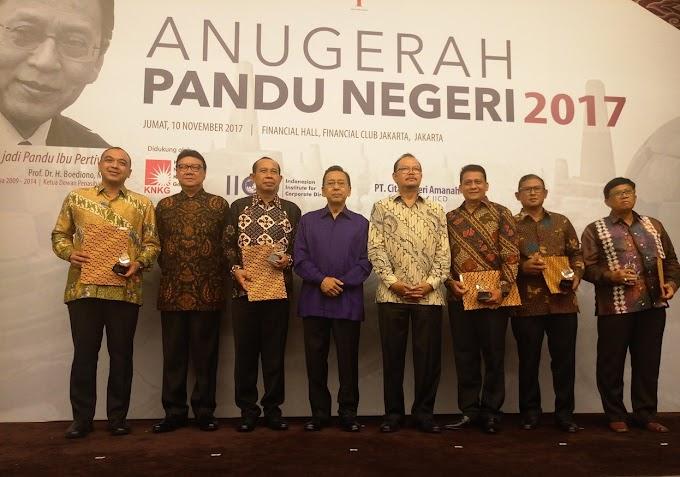 Bupati Tangerang Terima Pandu Negeri 2017