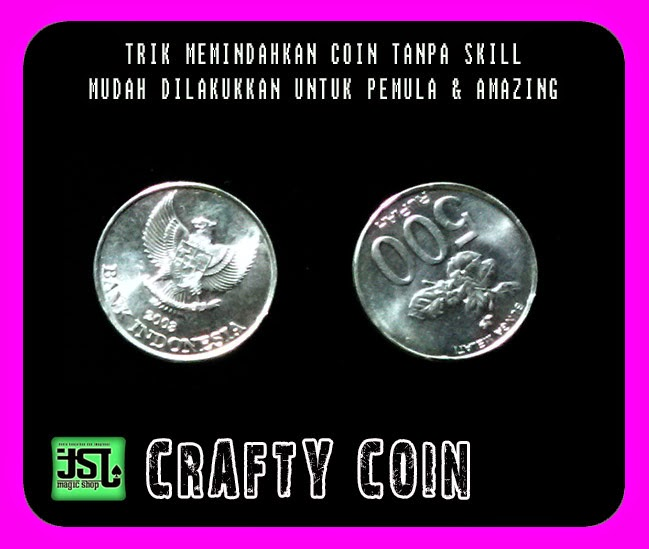 TOKO SULAP JOGJA CRAFTY COIN MAGIC