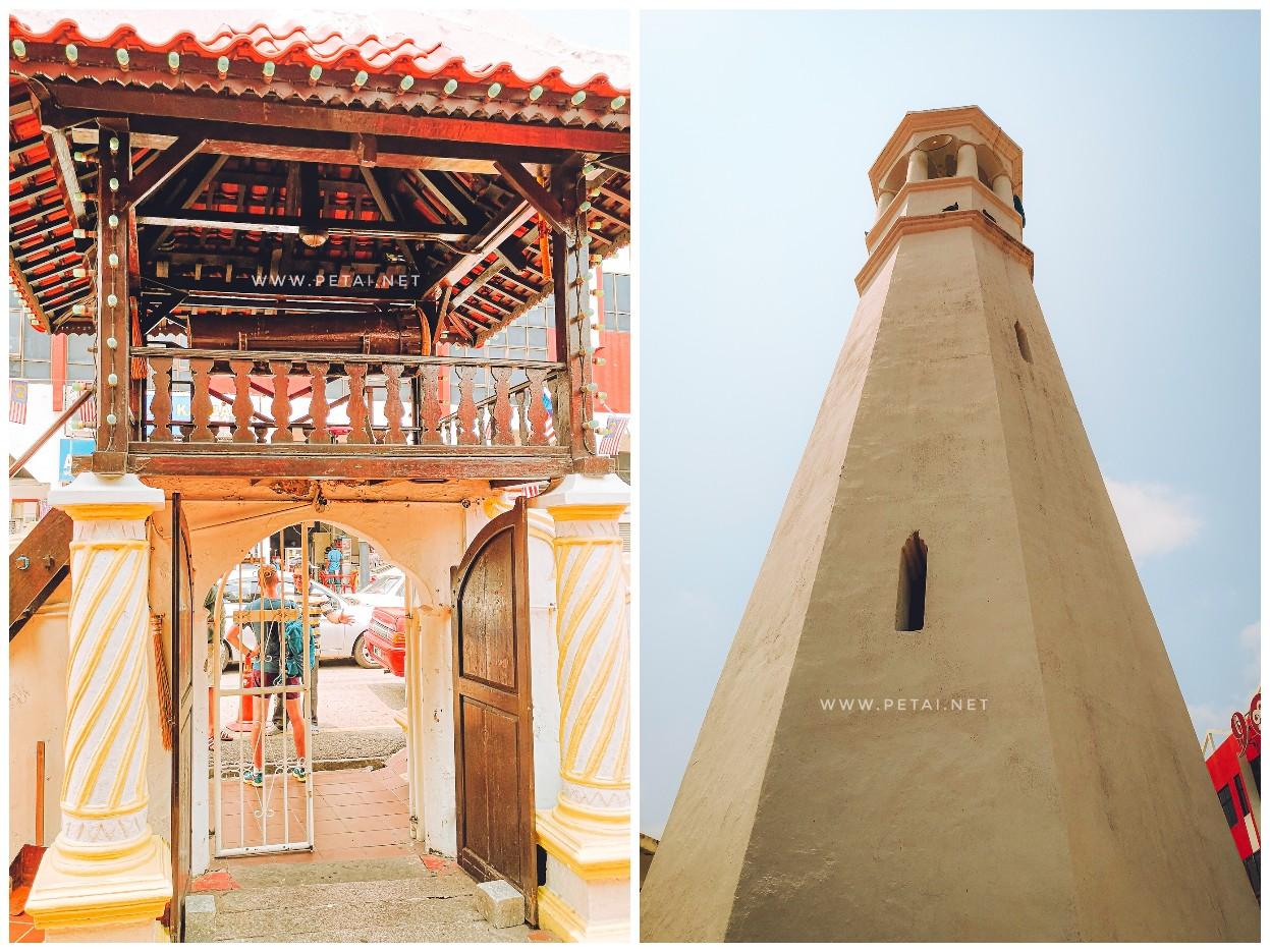 Masjid Kampung Hulu, Melaka - beduk