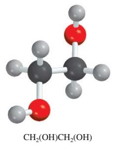 Struktur 3 dimensi molekul urea