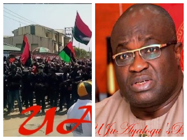 Nnamdi Kanu Behaves Like A 'Chameleon'? IPOB Replies Gov. Ikpeazu Over Controversial Comment