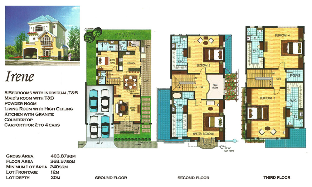 Versailles alabang irene luxury house and lot for sale for Versailles house floor plan