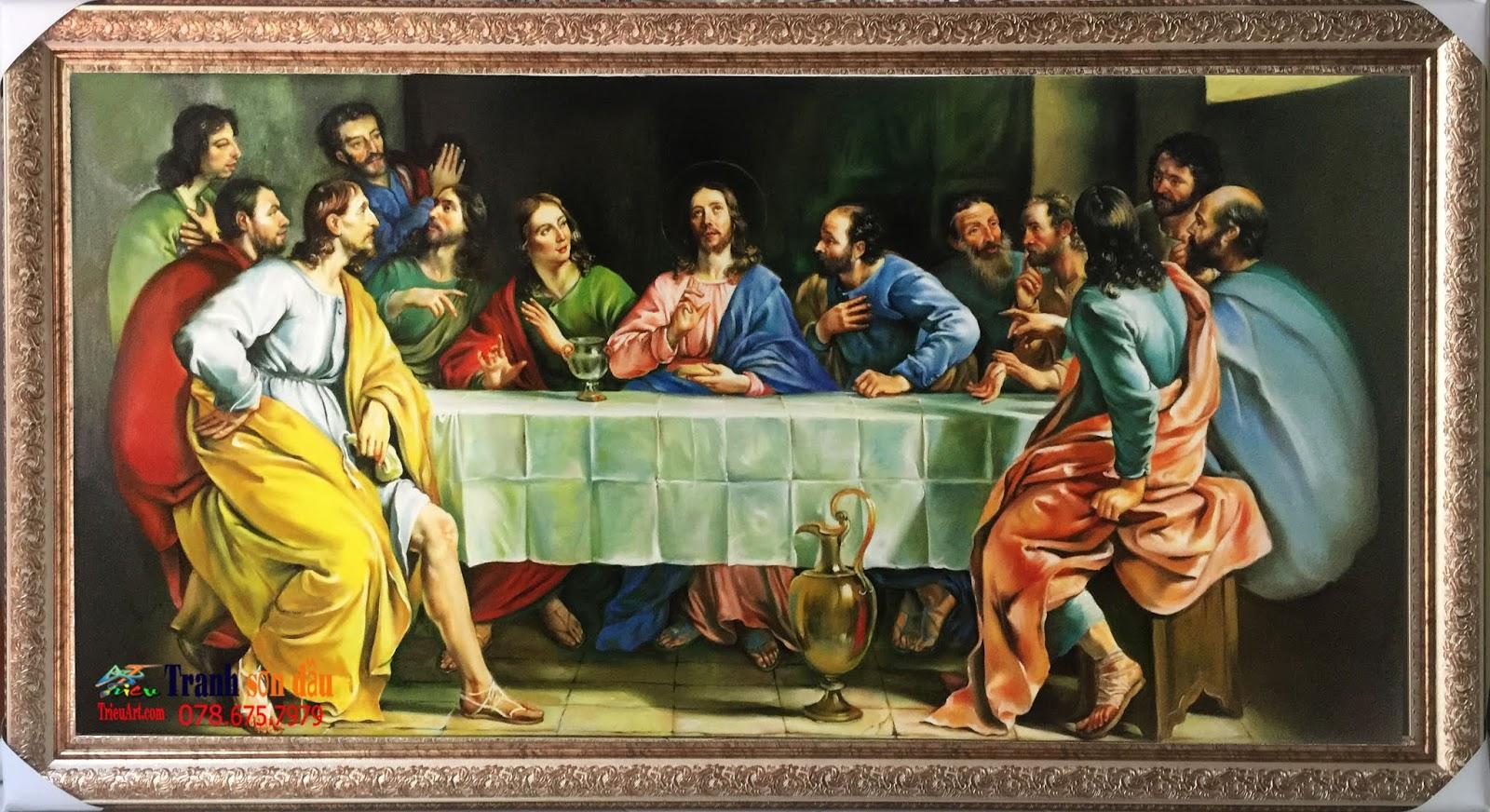 tranh bữa tiệc ly
