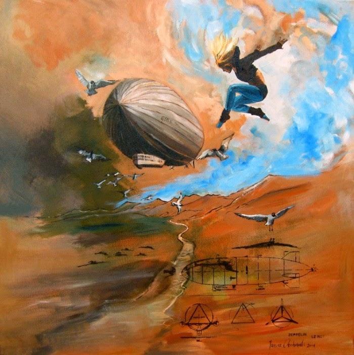 Сюрреалистические картины. Janusz Orzechowski