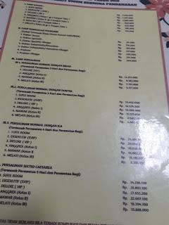 Biaya operasi SC di Hermina Pandanaran Semarang