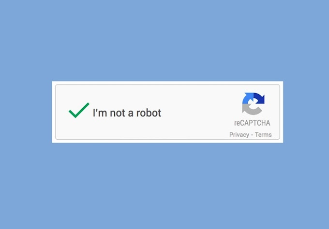 تخطي أنا لست برنامج روبوت - I'm not a robot تخلص من الكابتشا