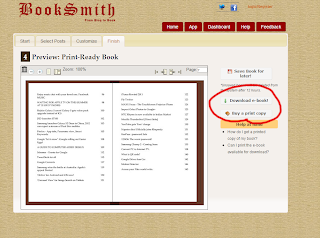 Convert Blog Posts into eBook (pdf file)