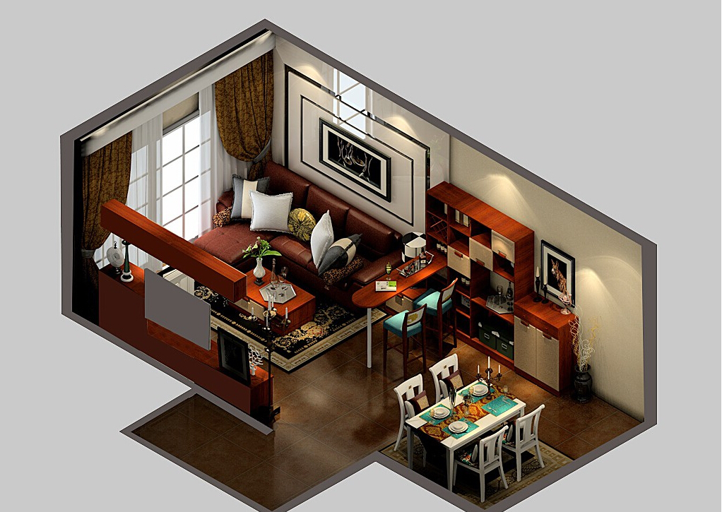 1%2Bmodern-living-dining-room-and-bar-design-3d-view-bar-ideas-for-living-room-l-e1c4eebf1c1eb764%2B%25281%2529 35 Sky View 4D American House Plan Styles Interior