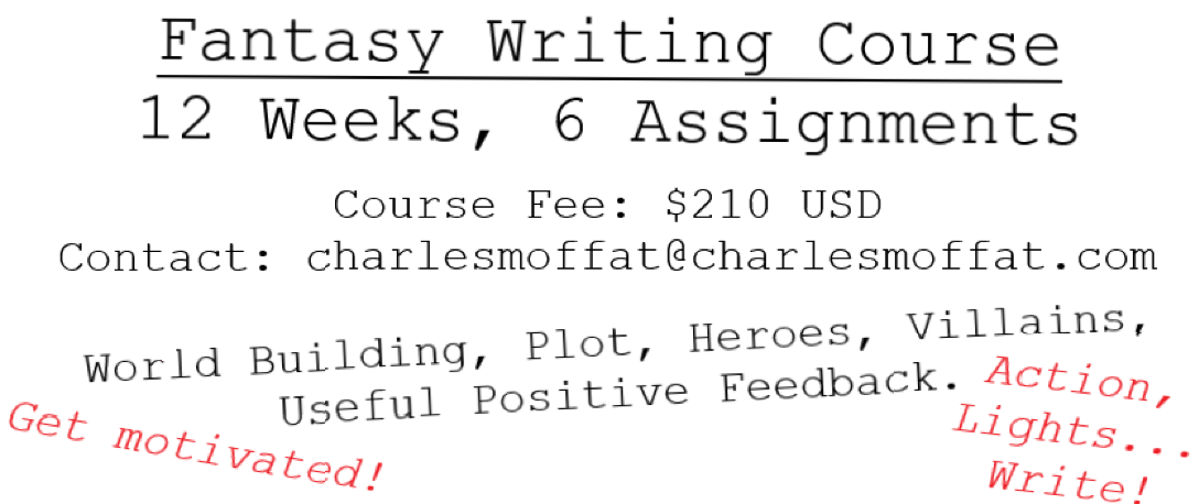 Nerdovore: 12 Week Course for Fantasy Writers