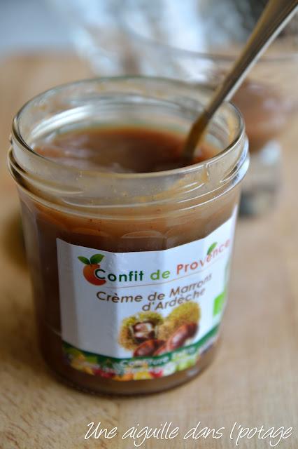 Crème de marron d'Ardèche bio Confit de Provence