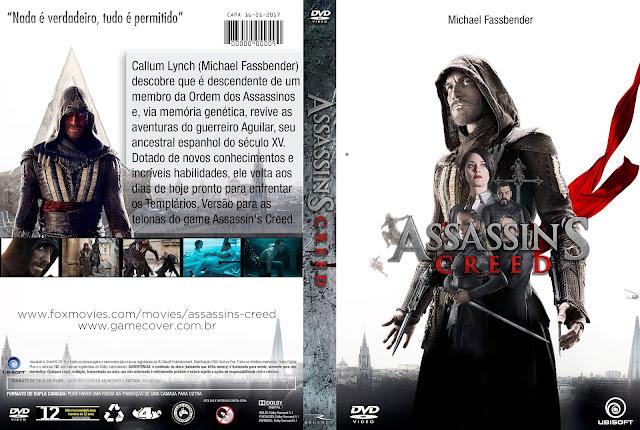 Capa DVD Assassins Creed [Exclusiva]