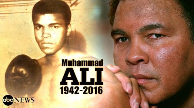 Pemergian Muhammad Ali Dirasai Kawan Dan Lawan