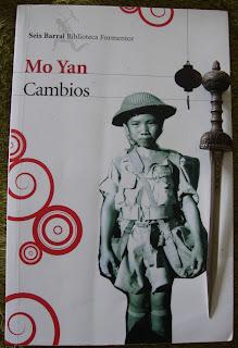 Portada del libro Cambios, de Mo Yan