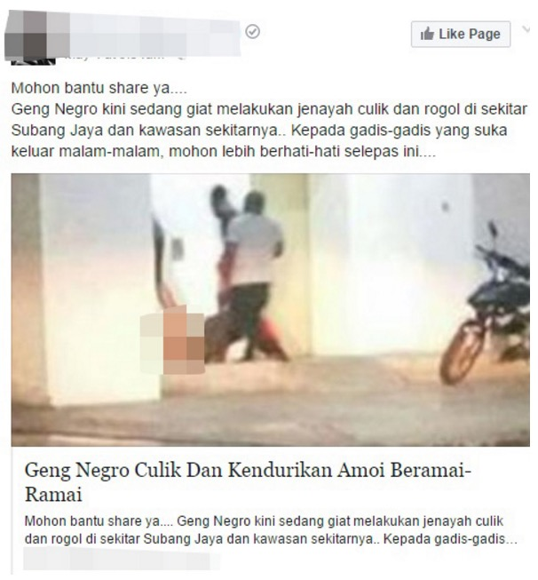 Kisah Sebenar Tiga Negro Culik Wanita di Pangsapuri Lagoon Perdana