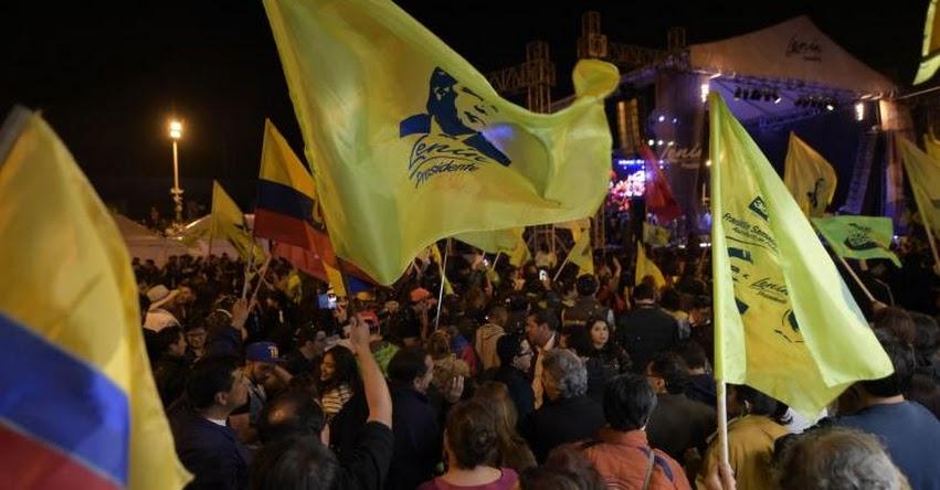 RESULTADOS ELECCIONES ECUADOR 2017: Habrá segunda vuelta en presidenciales, según primeros resultados