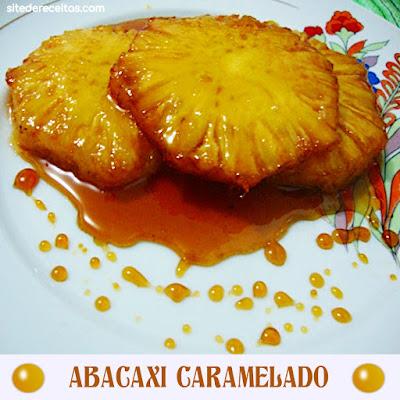 Abacaxi caramelado