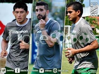Oriente Petrolero - Pedro Azogue - Emiliano Romero - Alberto Pinto - DaleOoo.com web del Club Oriente Petrolero