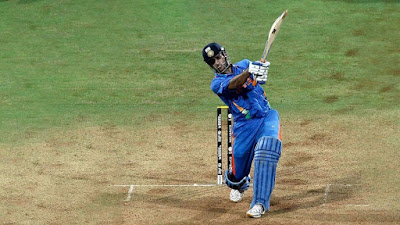 MS Dhoni Hits A Six and India wins the 2011 Cricket World Cup Final Against Sri Lanka