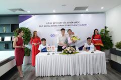 Hình ảnh buổi lễ ký kết giữa AoE Thái Bình và SPO Royal
