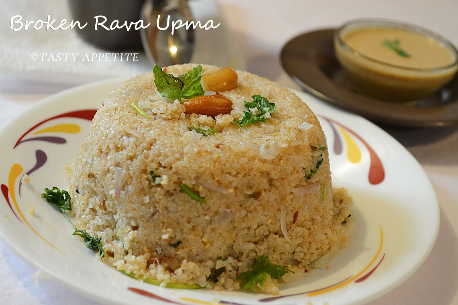 How to make Wheat Rava Upma / Godhuma Rava Upma / Broken
