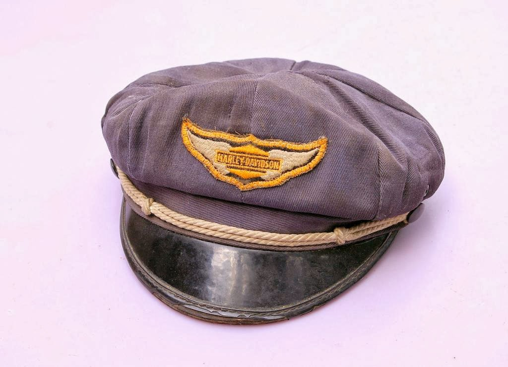 THRIFT SCORE...and more...  vintage Motorcycle Caps... b6c31fd6d23