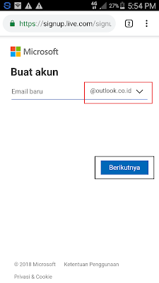 membuat email outlook dan hotmail