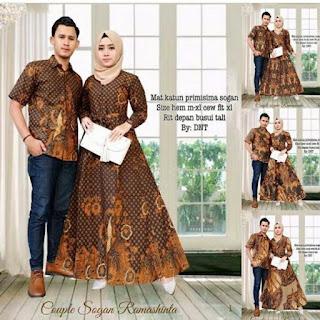 baju couple keluarga muslim terbaru
