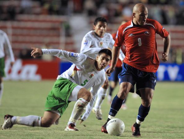Bolivia y Chile en Clasificatorias a Sudáfrica 2010, 15 de junio de 2008
