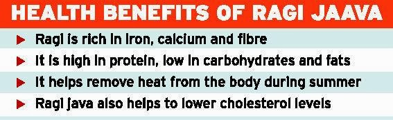 Ragi health benefits