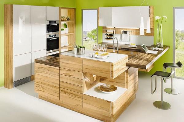 Cocinas color verde - Colores en Casa