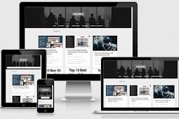 Reading Responsive Personal Portfolio Blogger Template Free Download