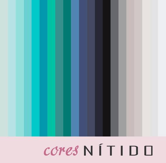 Cartela de cores para o Alto Verão da Nítido Moda Evangélica